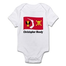 Pirate Flag - Christopher Moody Infant Bodysuit