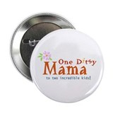 "Ditsy Moma 2.25"" Button (10 pack)"