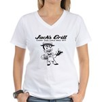 Jack's Grill Women's V-Neck T-Shirt