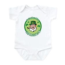 Get Lucky Leprachaun Infant Bodysuit