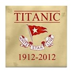 Titanic Centennial Tile Coaster