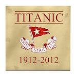 Titanic Centennial Tile Coaster