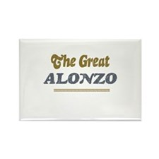 Alonzo Rectangle Magnet (10 pack)