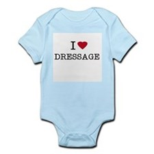 I Heart Dressage Infant Creeper