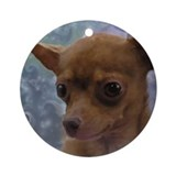 Gorgeous Chihuahua Ornament (Round)