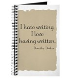 Dorothy Parker Quote Journal