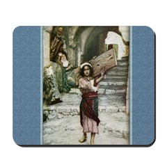 Jesus as a Youth - Tissot - Mousepad