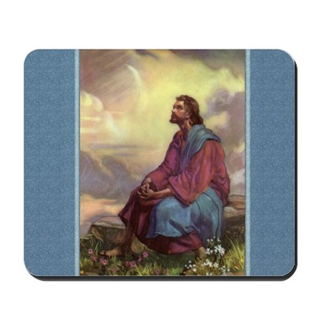 Jesus in the Fields - Egermeier - Mousepad