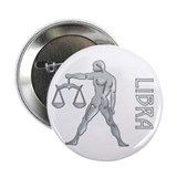 """ Silver Libra Design "" Button"