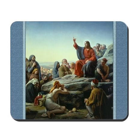 Sermon on Mt - Bloch - Mousepad