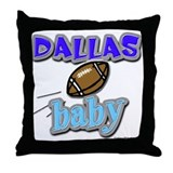 DALLAS baby Throw Pillow