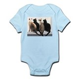 Bird Watching With Cat Friends Onesie