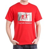 Pirate Flag - Captain Dulaien (Front) T-Shirt