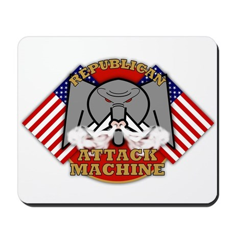 Republican Attack Machine Mousepad 