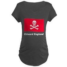 Pirate Flag - Edward England (Front) T-Shirt