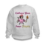 Inner Pirate Kids Sweatshirt