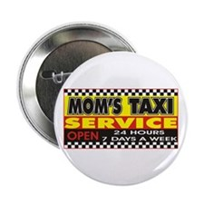 "Mom's Taxi Service 2.25"" Button (10 pack)"