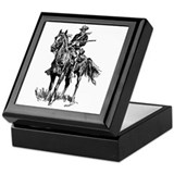 Old Bill Cavalry Mascot Keepsake Box