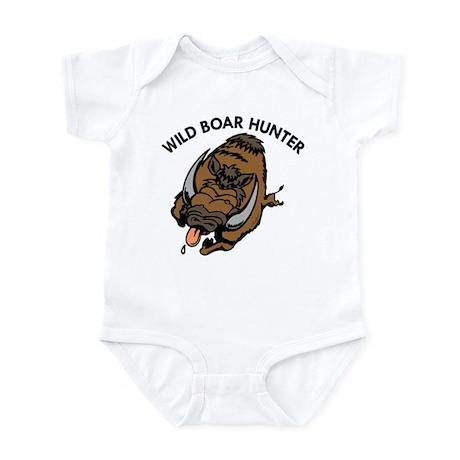 Wild Boar Hunter Infant Bodysuit