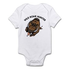 Wild Boar Hunter Infant Bodysuit