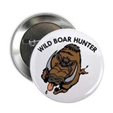 Wild Boar Hunter Button