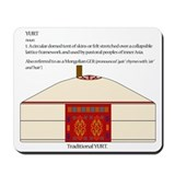 Yurt Definition Mousepad