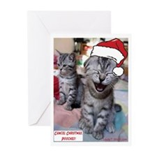Cancel Christmas, Pooches Greeting Cards (Pk of 20