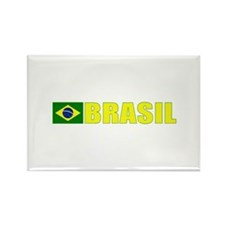 Brasil Rectangle Magnet (100 pack)
