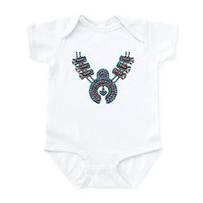 Squash Blossom Necklace Infant Bodysuit