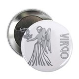 """ Silver Virgo Design "" Button"