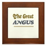 Angus Framed Tile