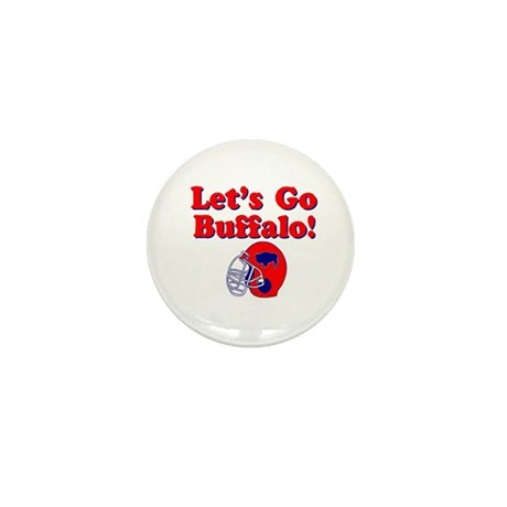 Buffalo Mini Button (100 pack)