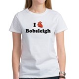 I (Heart) Bobsleigh Tee