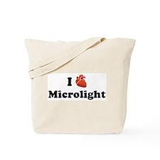 I (Heart) Microlight Tote Bag