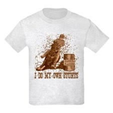 Horse barrel racing. Stunts. T-Shirt