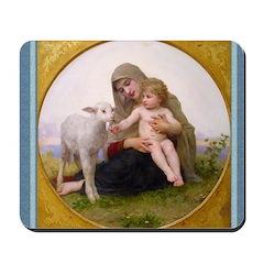 Virgin and Child - Bouguereau - Mousepad