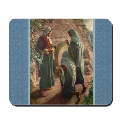 Women at the Tomb - Copping - Mousepad