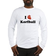I (Heart) Korfball Long Sleeve T-Shirt