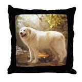 Great Pyrenees Throw Pillow - Alazon