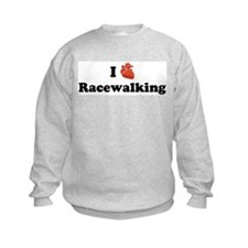 I (Heart) Racewalking Sweatshirt