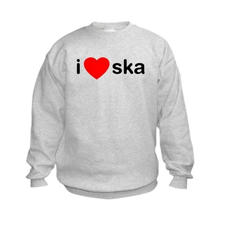 I Heart Ska Kids Sweatshirt