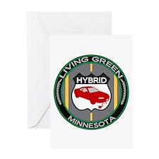 Living Green Hybrid Minnesota Greeting Card