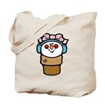 Cute Little Girl Snow Cone Tote Bag