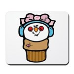 Cute Little Girl Snow Cone Mousepad