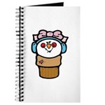 Cute Little Girl Snow Cone Journal