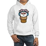 Cute Little Girl Snow Cone Hooded Sweatshirt
