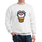 Cute Little Girl Snow Cone Sweatshirt