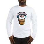 Cute Little Girl Snow Cone Long Sleeve T-Shirt