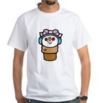 Cute Little Girl Snow Cone White T-Shirt