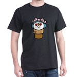 Cute Little Girl Snow Cone Dark T-Shirt